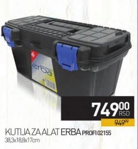 Kutija za alat Erba