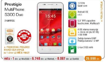 Mobilni telefon Multiphone 5300 Duo