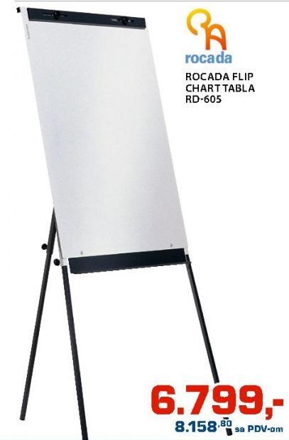 Flip Chart tabla Rocada Rd-605