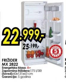 Frižider Mx 2822