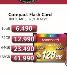 Compact Flash Card 128GB