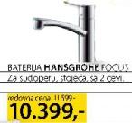 Baterija za sudoperu Hansgrohe Focus