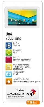 Utok 700D light