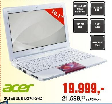 Netbook D270-26C