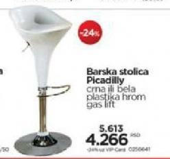Barska stolica Picadily