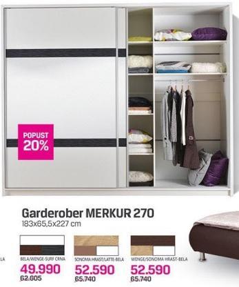 Garderober Merkur 270