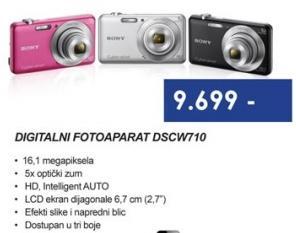 Digitalni foto aparat DSC-W710