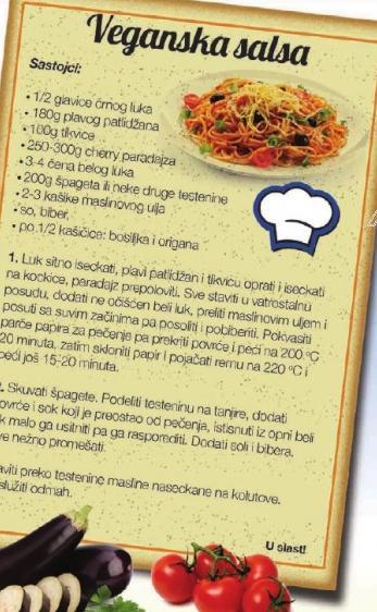 Recept Veganska salsa