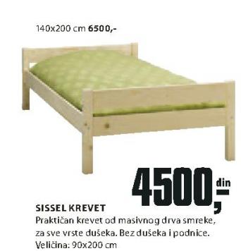 Krevet Sissel