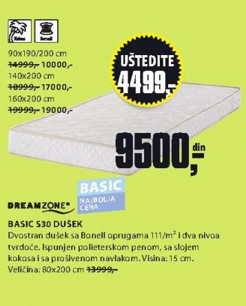 Dušek Basic S20 140x200