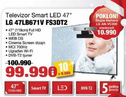"Televizor LED 47"" 47Lb671v Fs3dt2"
