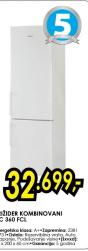Frižider kombinovani HC 360F