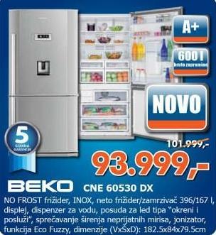 Kombinovani frižider Cne 60530 Dx
