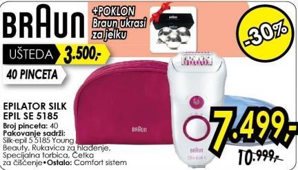 Epilator Silk Epil Se 5185