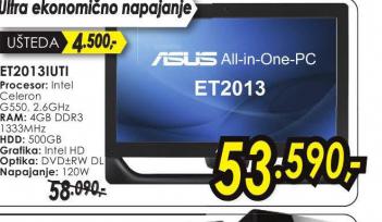 Desktop računar konfiguracija ET2013IUTI