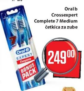 Četkica za zube Crossexpert Complete 7