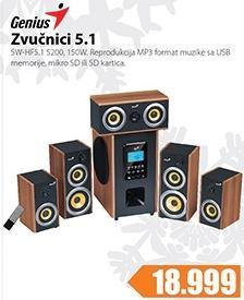 Zvučnici 5.1 SW-HF 5.1 5200
