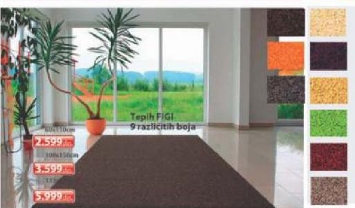 Tepih Figi, 100x150cm