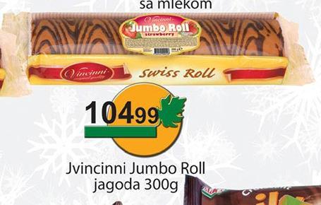Rolat Jumbo roll jagoda