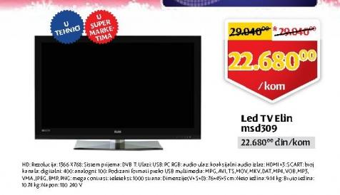 LED Tv MSD 309