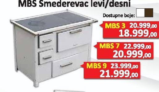 Šporet Smederevac Mbs9