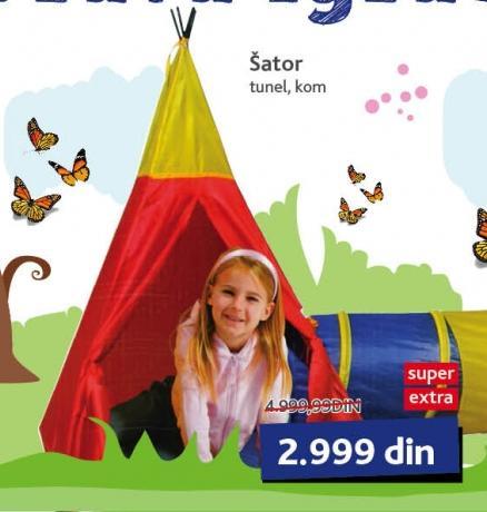 Igračka Šator