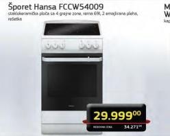 Šporet FCCW54009