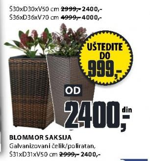 Saksija Blommor