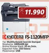 Štampač KYOCERA ECOSYS FS-1120MFP