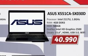 Laptop X551CA-SX030D