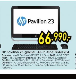 Konfiguracija Pavilion 23-g020eu G5Q12EA