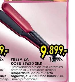 Presa Za Kosu S9620 Silk