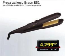 Presa za kosu ES1