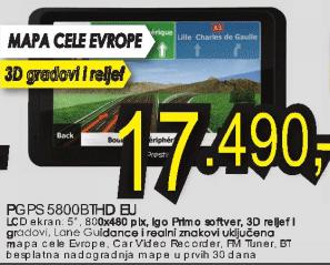 Navigator PGPS5800THD EU