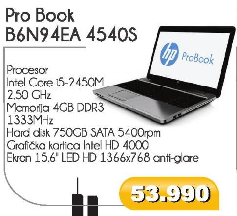 Pro Book B6N94EA 4540S