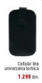 Univerzalna torbica Cellular line za mobilni telefon