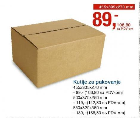 Kutija za pakovanje
