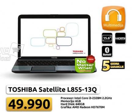 Laptop Satellite L855-13Q