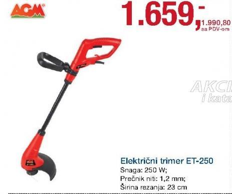 Elekrični trimer Et-250