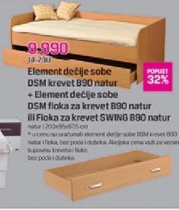 Krevet DSM B90 sa fiokom