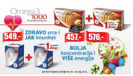 Omega3 1000 kapsule