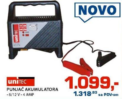 Punjač akumulatora Unitec