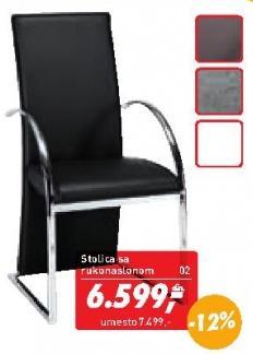 Stolica sa rukonaslonom Flex