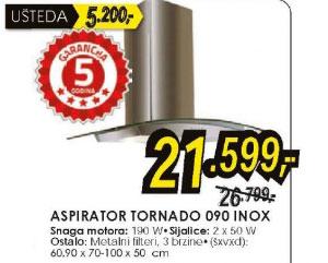 Aspirator Tornado 090 inox