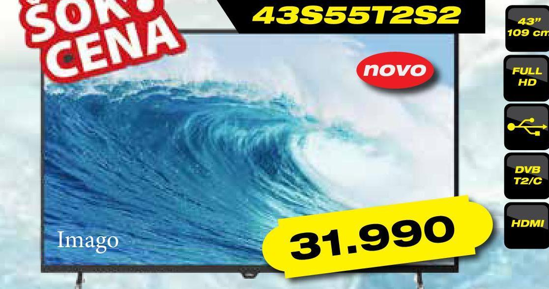 Televizor Imago LED 43S55T2S2