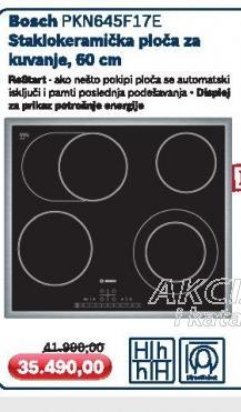 Ugradna ploča PKN645F17E