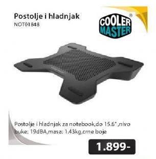 COOLER MASTER NotePal X-Lite