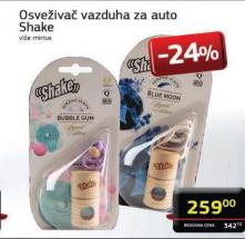 Osveživači vazduha za auto, Shake