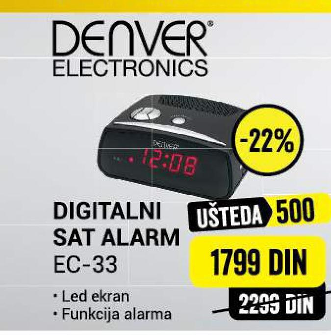 Radio budilnik EC 33