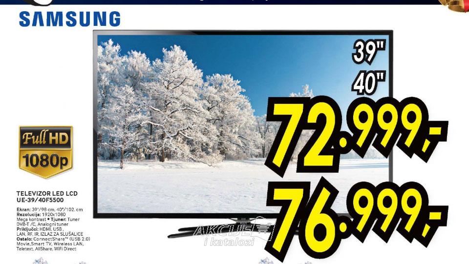 Televizor LED LCD UE-40F5500